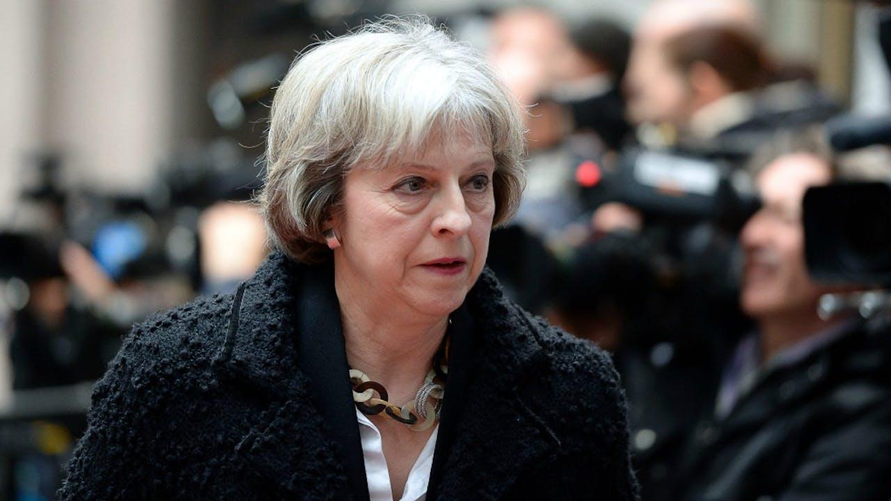 Theresa May, Britse minister van Binnenlandse Zaken en kandidaat voor het premierschap. Foto: ANP