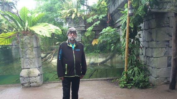 Bioloog Wybren Landman van Wildlands. Foto BNR / Elfanie toe Laer