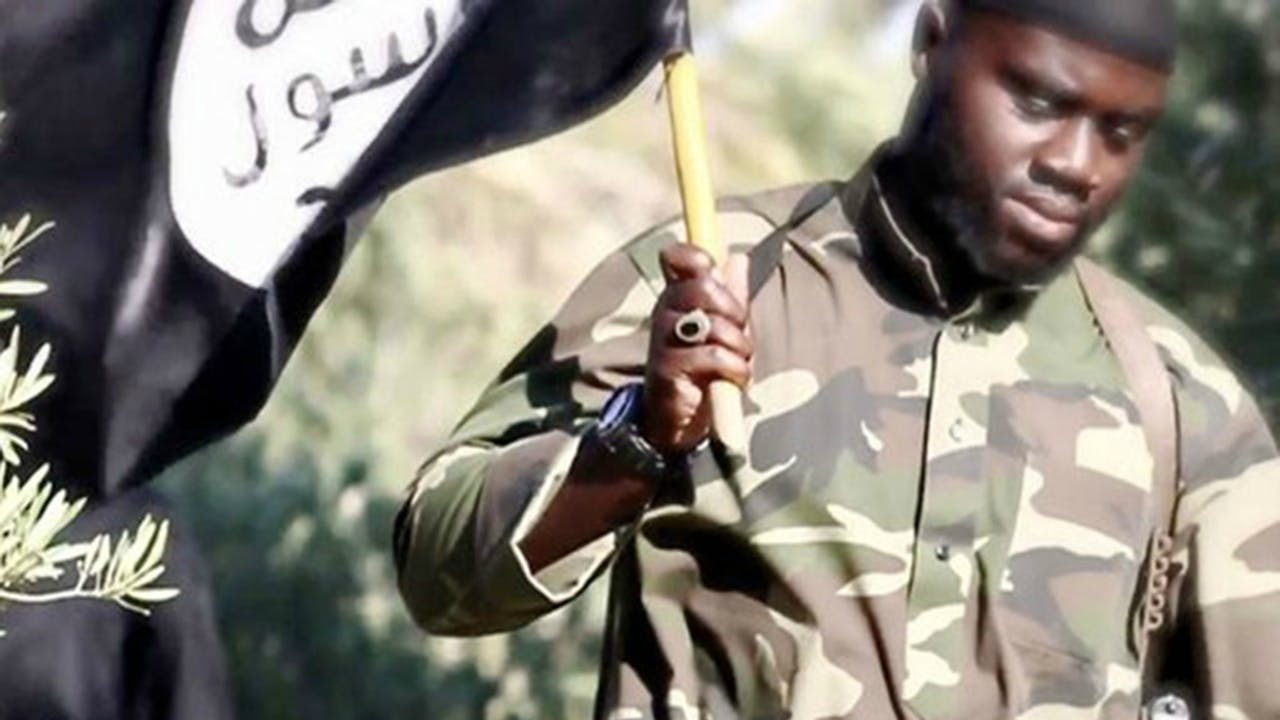 Harry Sarfo figureede in een IS-propagandavideo uit 2015.