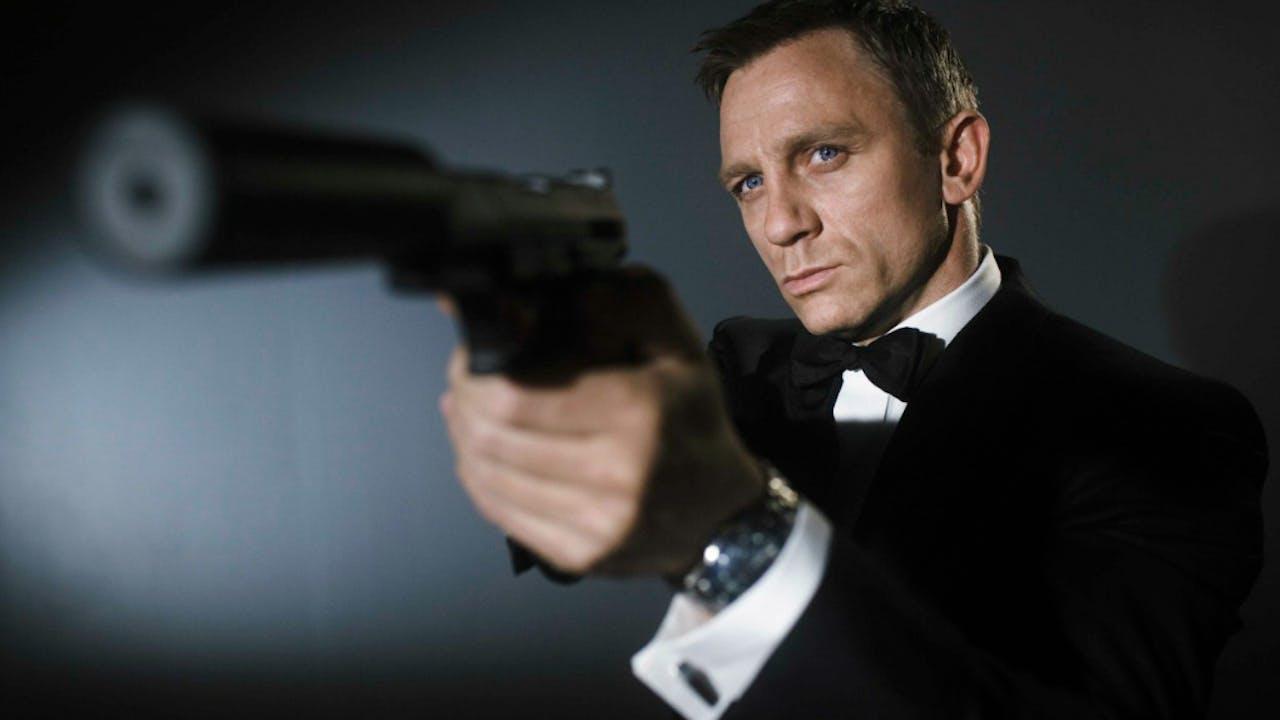 Daniel Craig is de elfde James Bond.