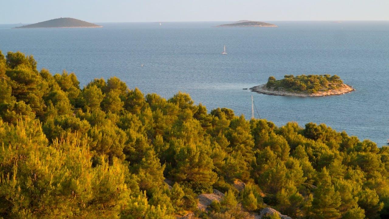 Willekeurige eilandjes. Foto: HH/Bert Spiertz