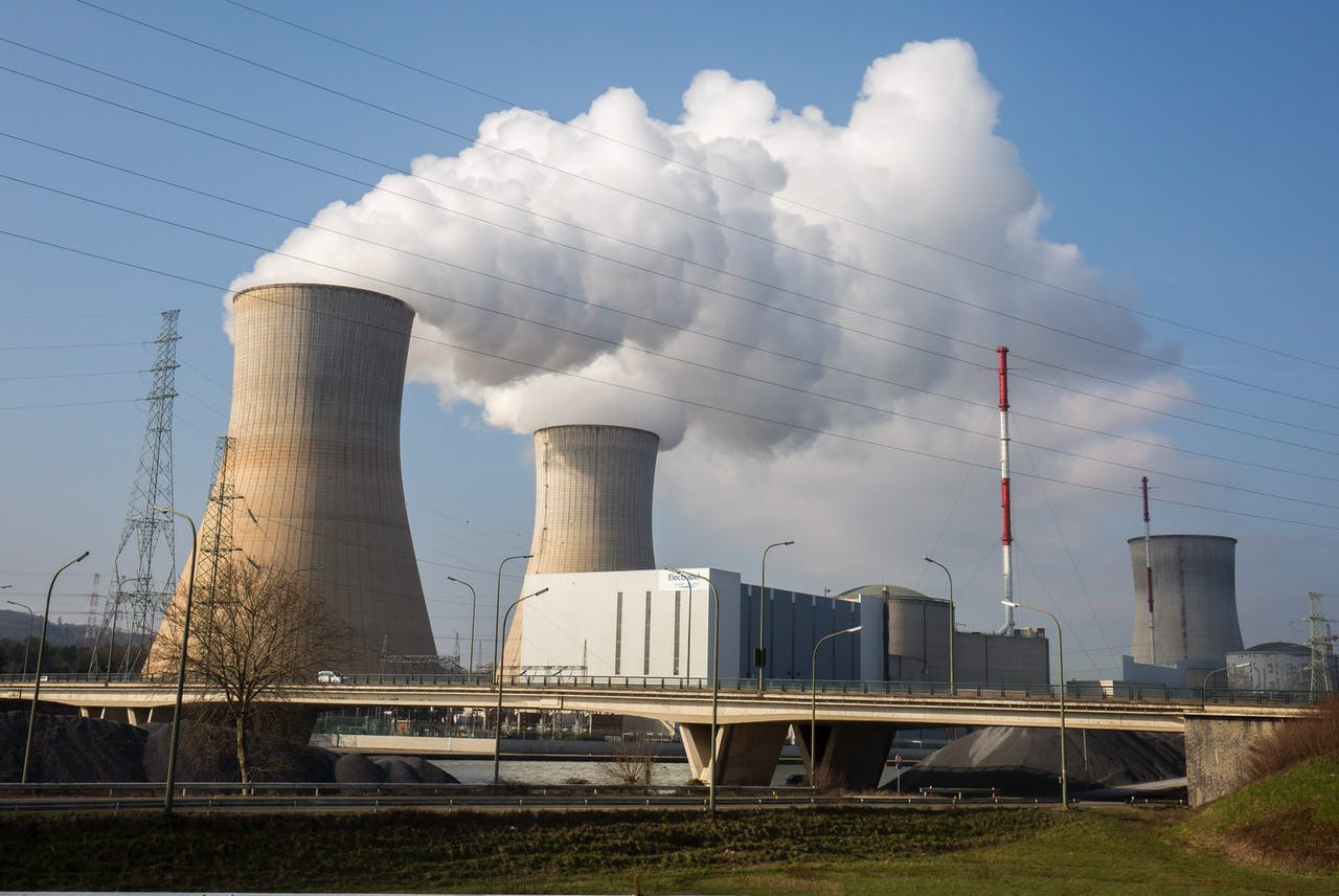De kerncentrale in Tihange. Foto EPA