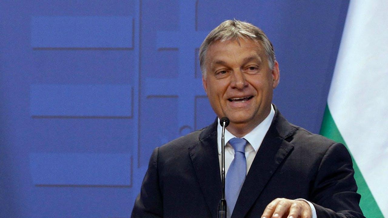 Viktor Orban (ANP/AFP)