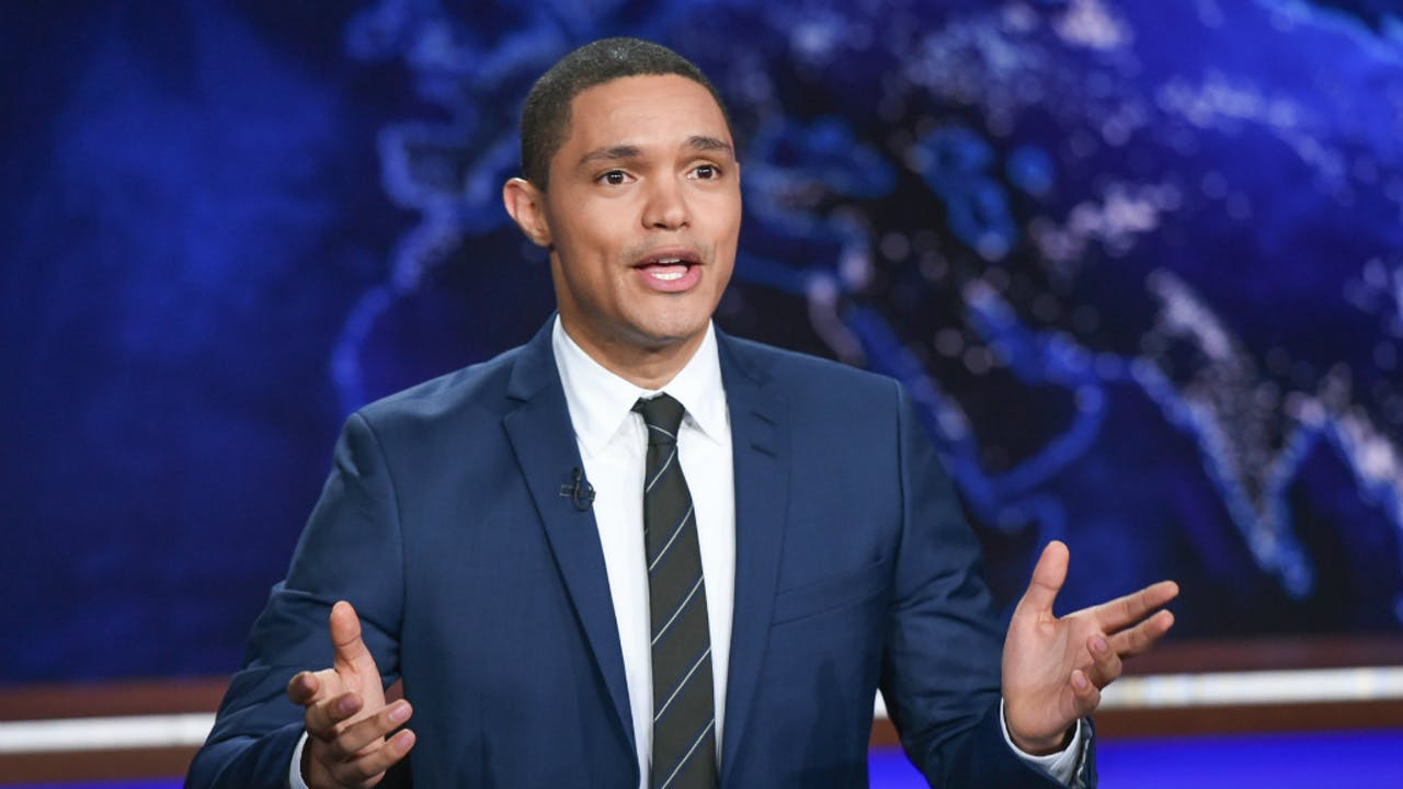 Trevor Noah presenteert sinds 2015 The Daily Show.
