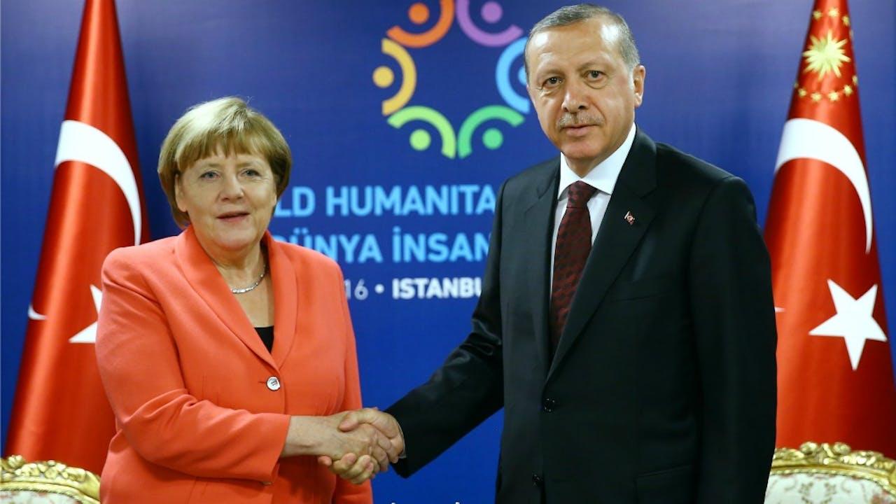 Merkel en Erdogan in betere tijden. Foto: HH/Kayhan Ozer