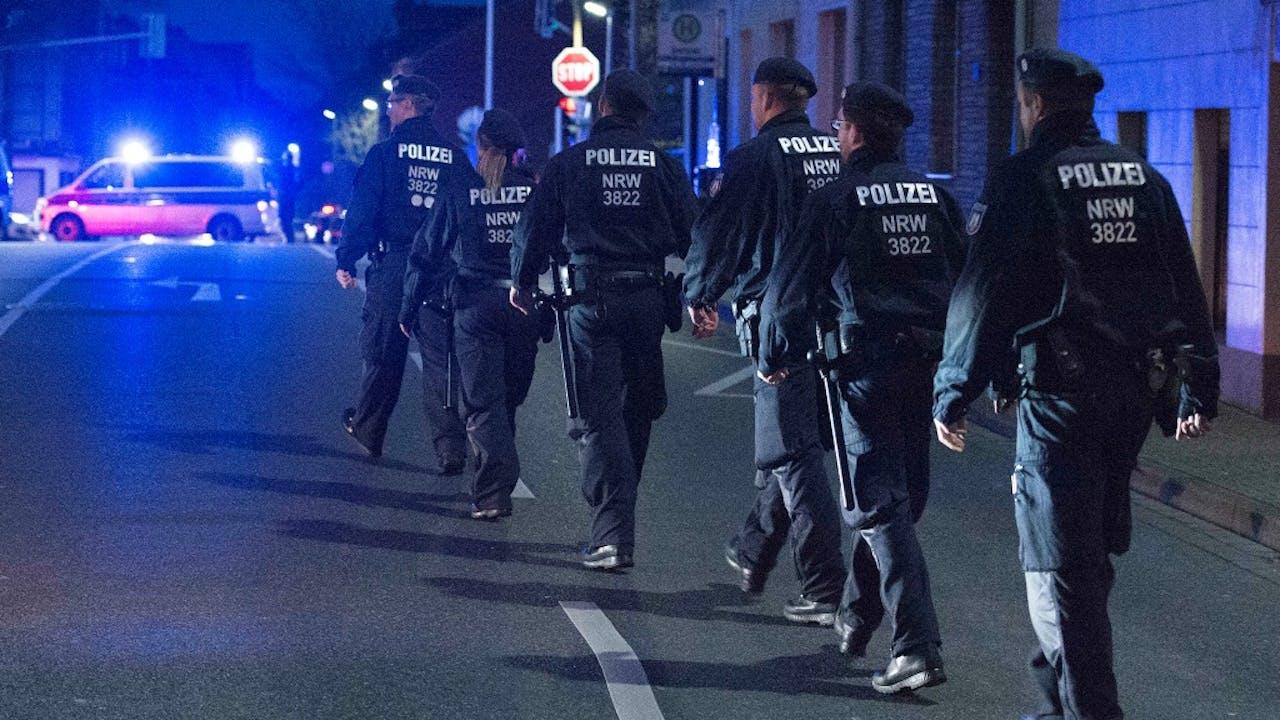 Duitse politie. Foto: ANP.