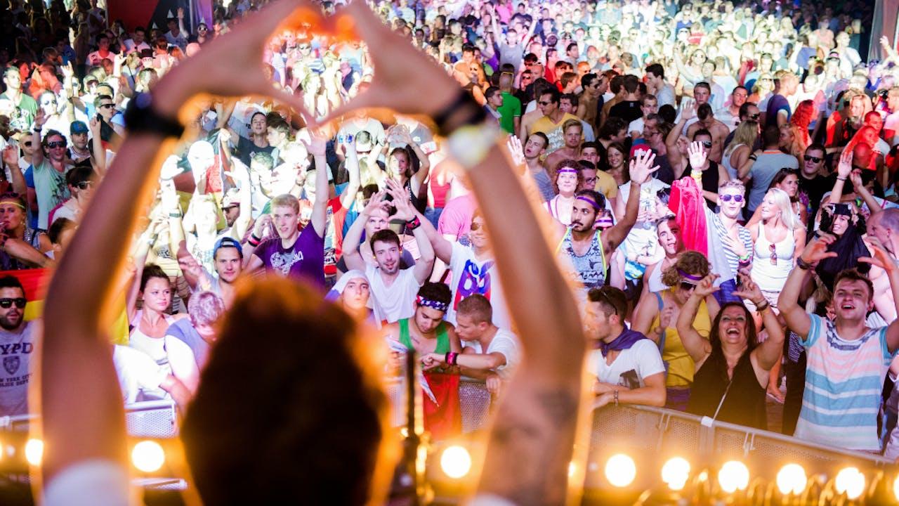 Met name op muziekfestivals is drugsgebruik gemeengoed.