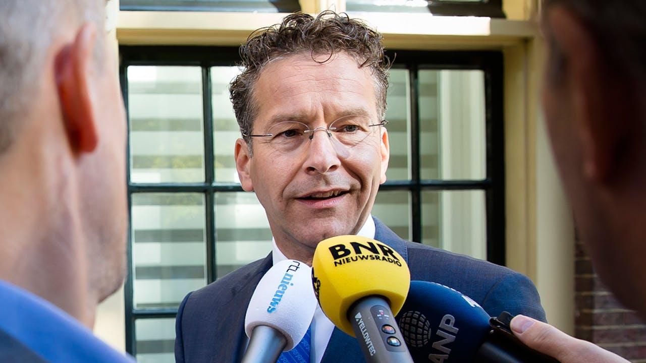 Jeroen Dijsselbloem: 'Onzekerheid is over het algemeen niet goed voor economische relaties.'