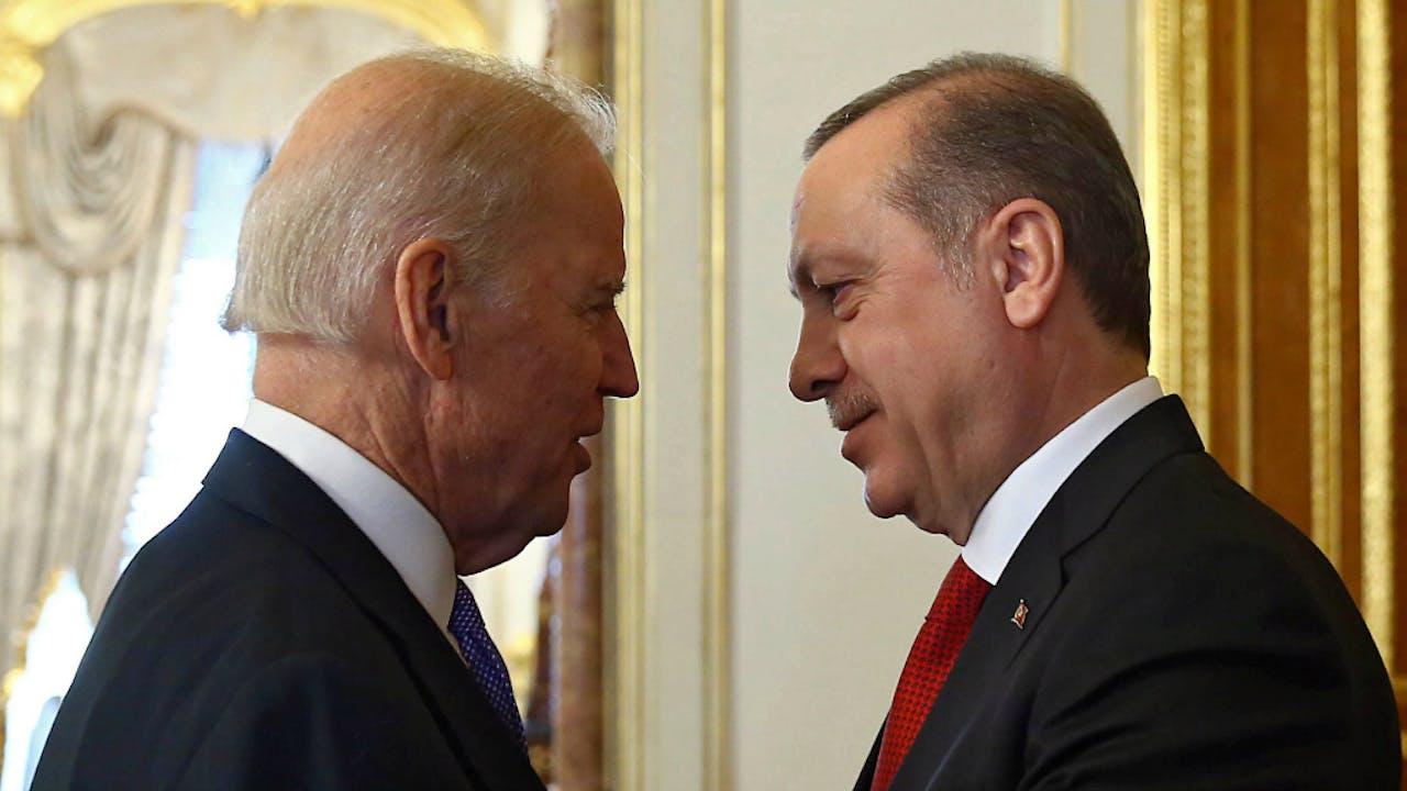 Biden en Erdogan eerder dit jaar. Foto EPA/ANP