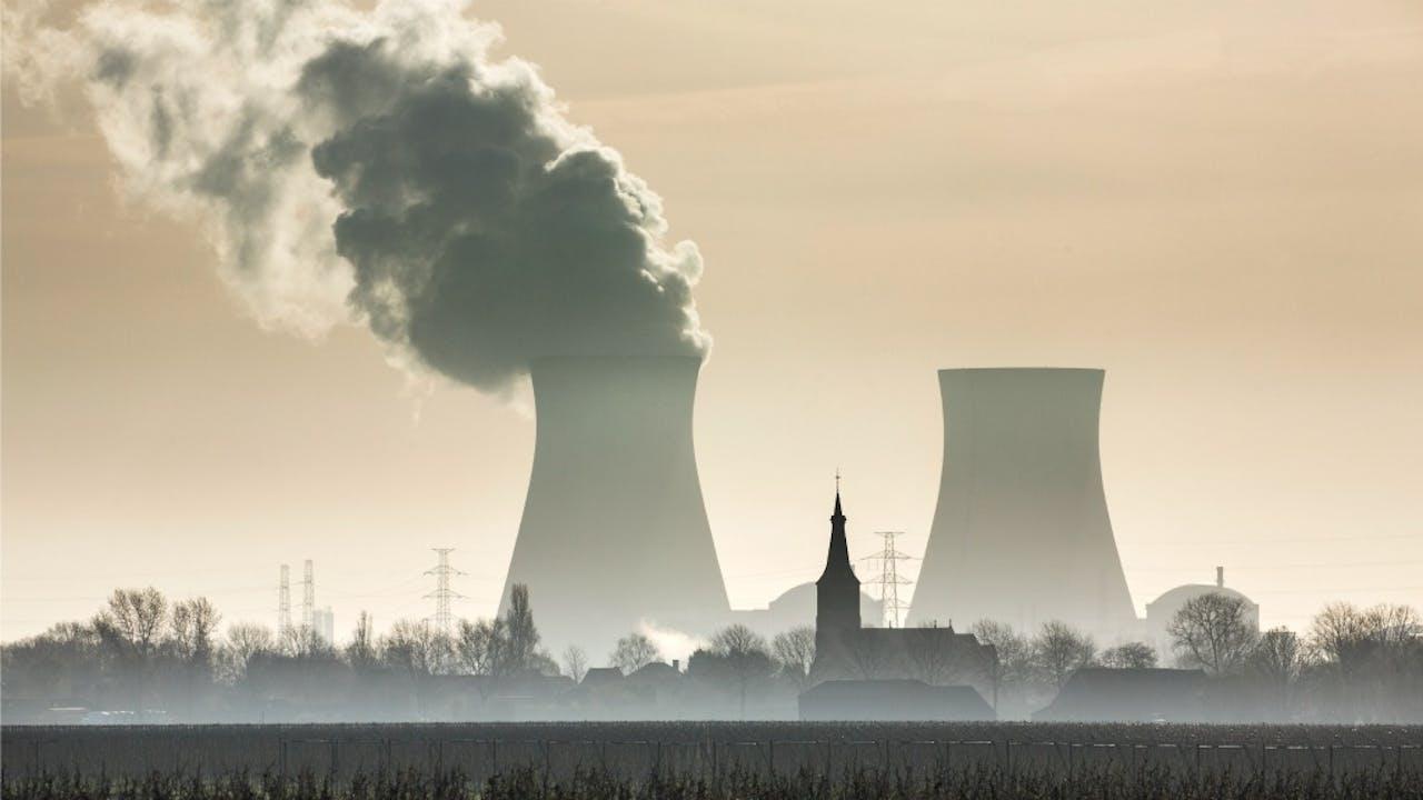 De kernreactor in Doel, België. Foto: HH/Frans Lemmens