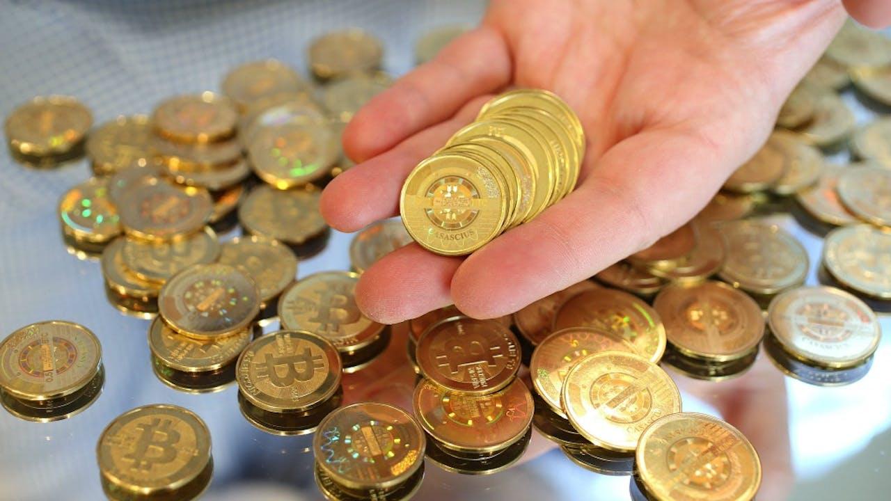 Blockchain wordt onder meer gebruikt voor bitcoin. Foto ANP
