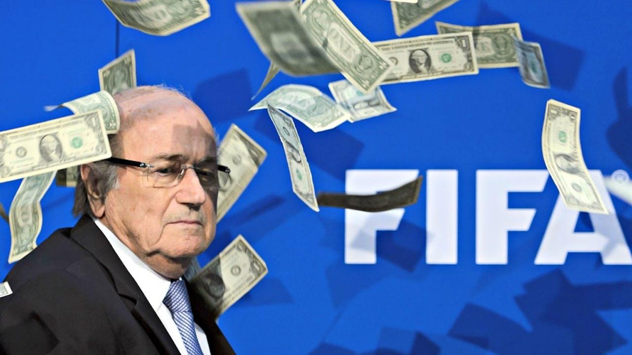 Sepp Blatter vecht bij CAS zijn schorsing van zes jaar aan. Foto ANP