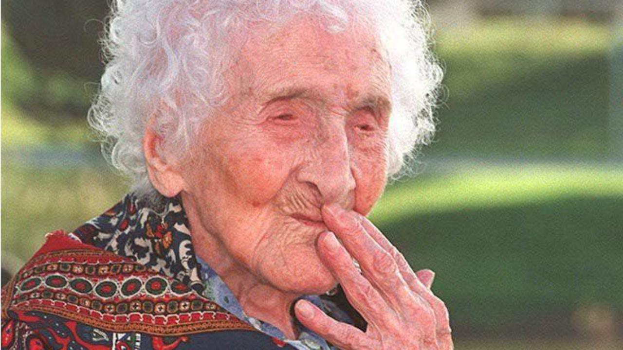 De oudste mens ooit, Jeanne Calment (Foto: ANP)