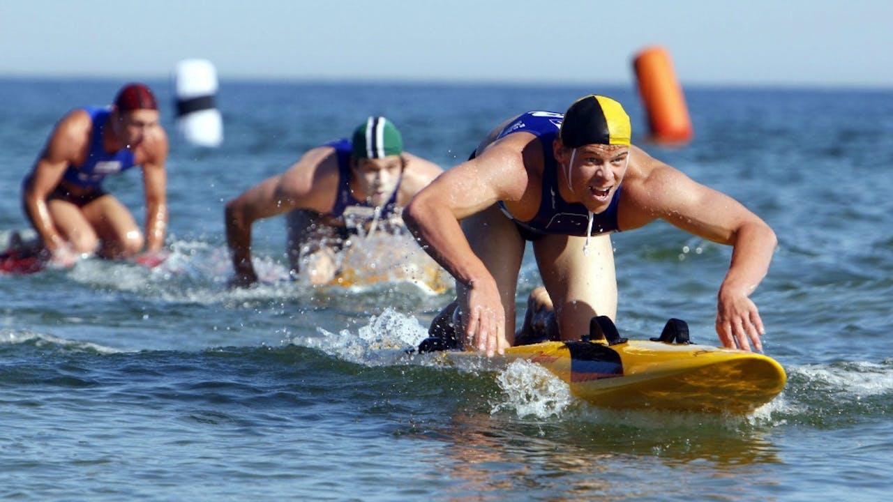 Archiefbeeld van het WK Reddingszwemmen in 2008. Foto: ANP/AFP