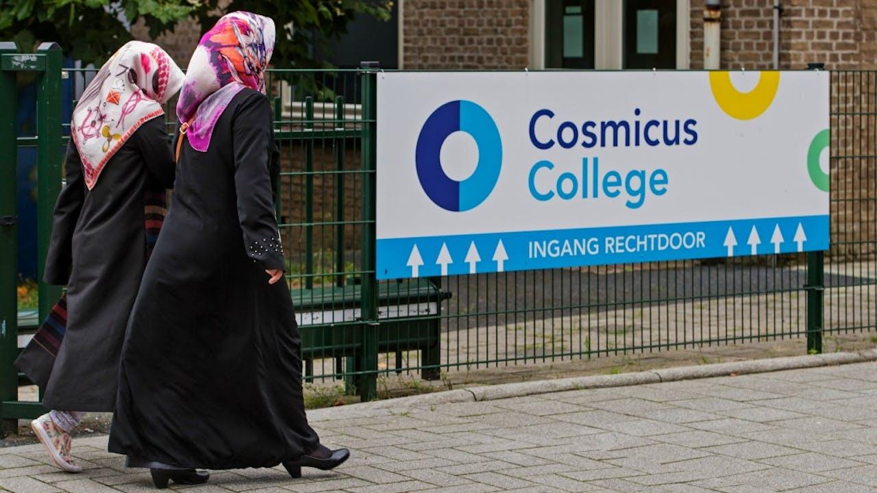 Cosmicus College in Rotterdam. Stichting Cosmicus is gelinkt aan de Gulen-beweging. Foto: ANP