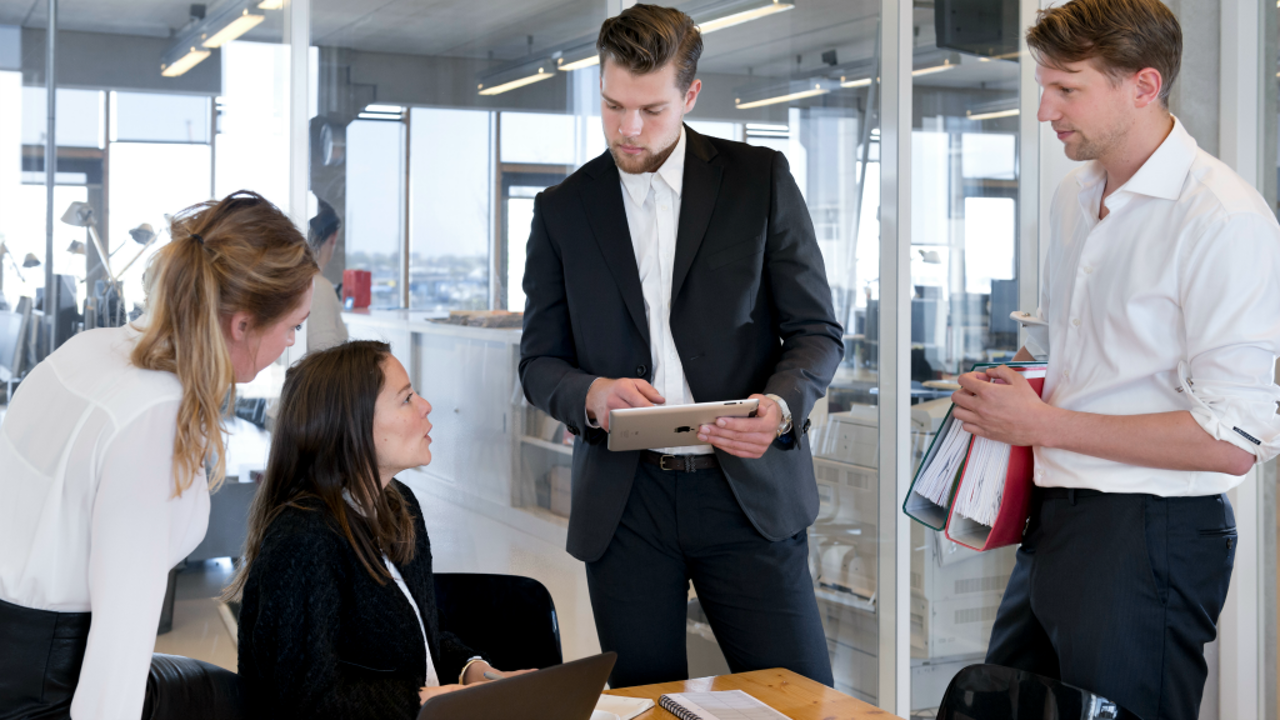 Zouden het managers of een ondernemers zijn? (Foto: Hollandse Hoogte)