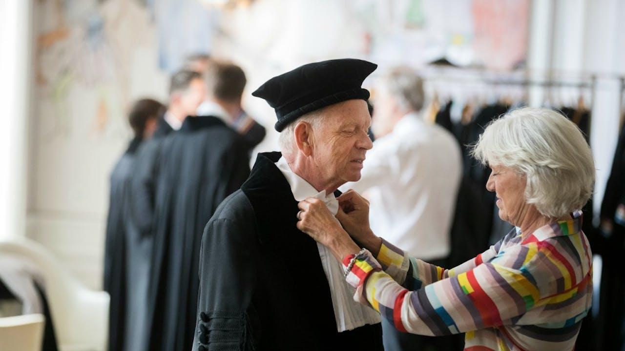 Opening academisch jaar in Utrecht. Foto: ANP.