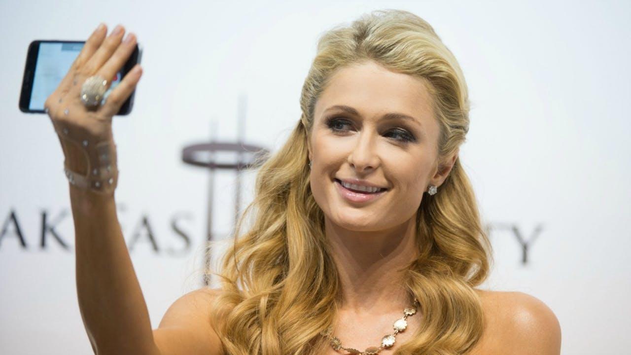Paris Hilton, zakenvrouw en telg uit de familie van de oprichter van het Hilton-imperium. Foto: ANP/AFP