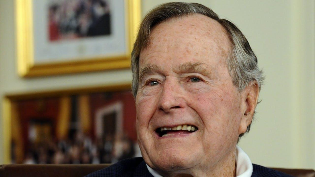 Voormalig president George Bush senior. Foto ANP