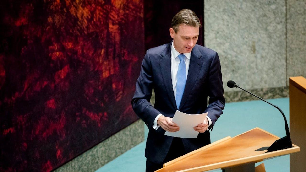 VVD-fractievoorzitter Zijlstra. Foto ANP