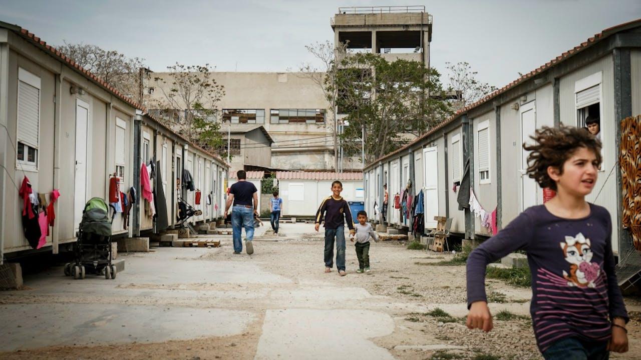 Foto: ANP - Vluchtelingenkamp Griekenland