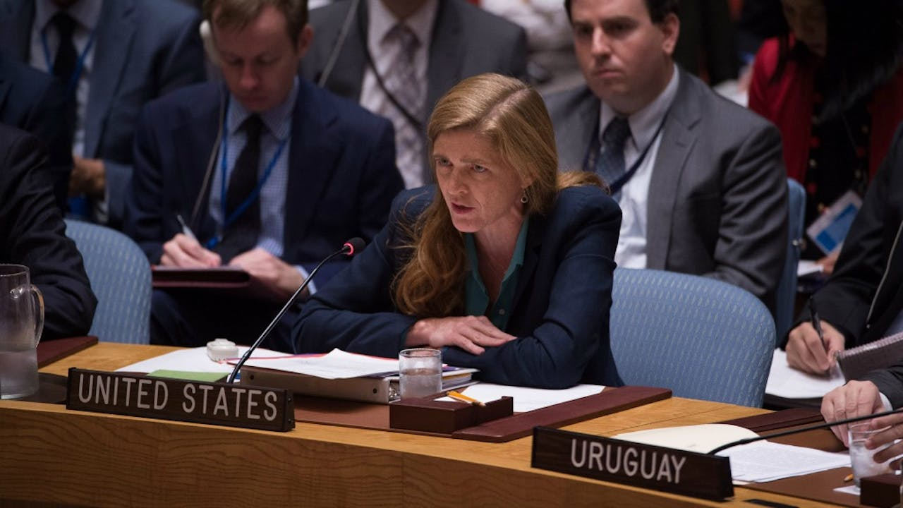 Samantha Power. Foto: ANP/AFP