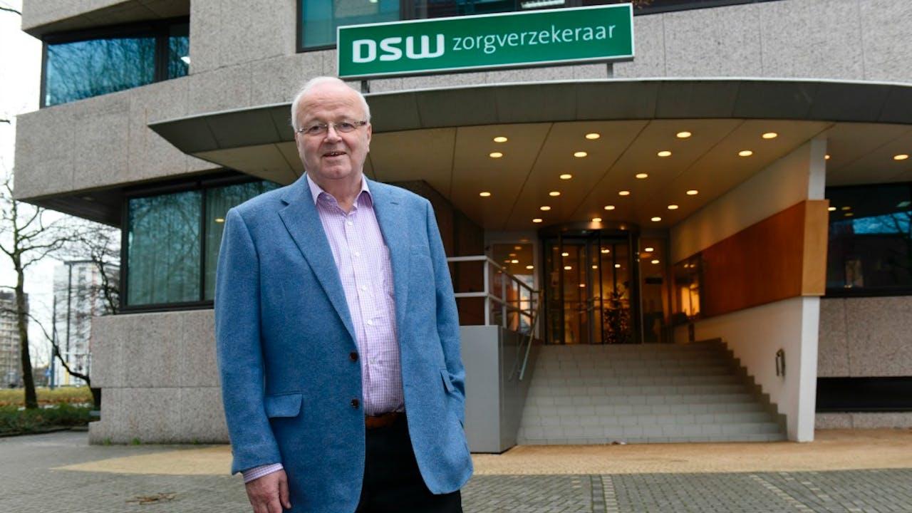 Directeur DSW Chris Oomen. Foto Hollandse Hoogte / Rights Managed, Peter Hilz