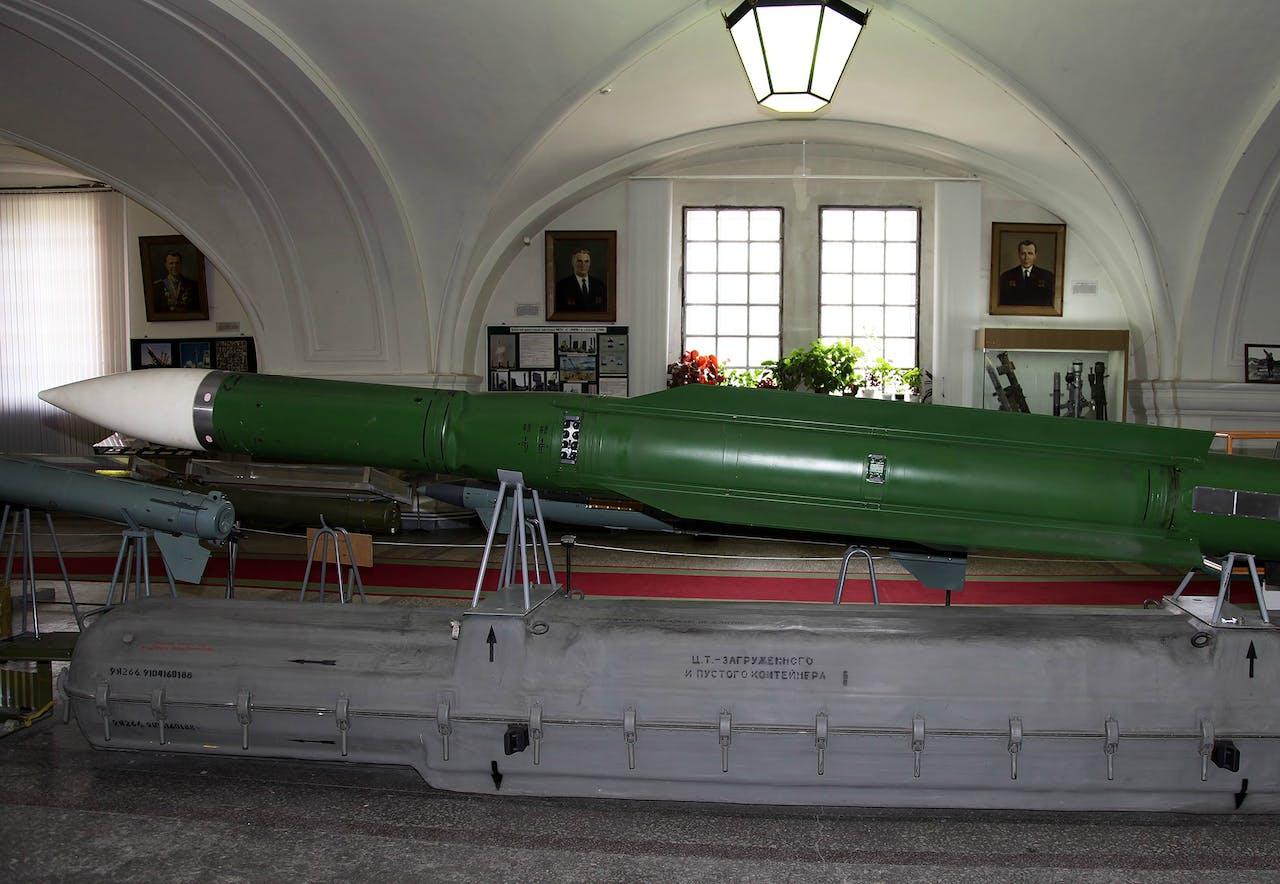 Buk-raket uit de 9M38-serie. Foto: Wikipedia