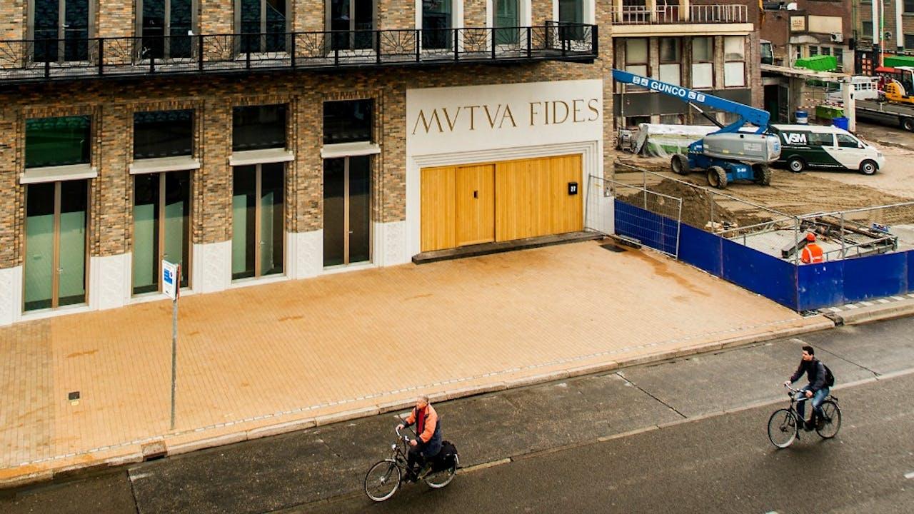 Gebouw van studentenvereniging Vindicat. Foto: ANP