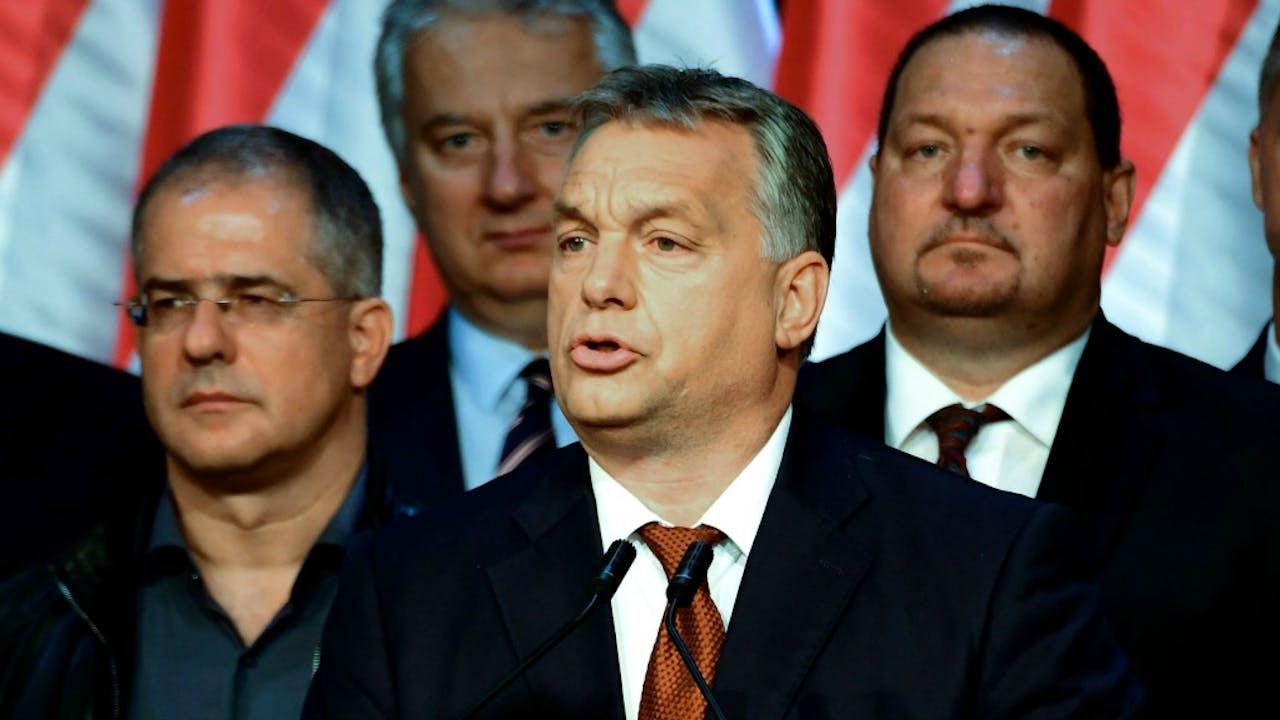 Premier Viktor Orbán. Foto: ANP