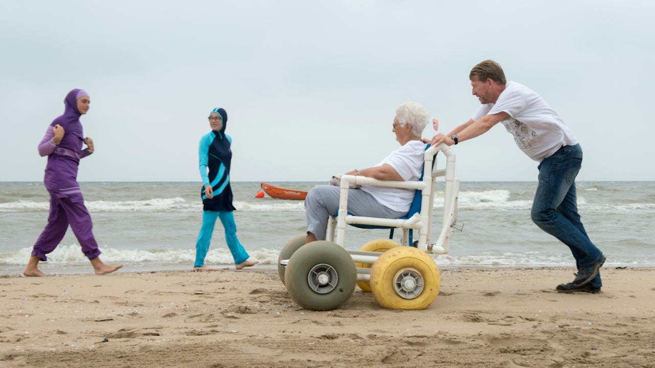 Foto, geënsceneerd: Sabine Joosten/Hollandse Hoogte