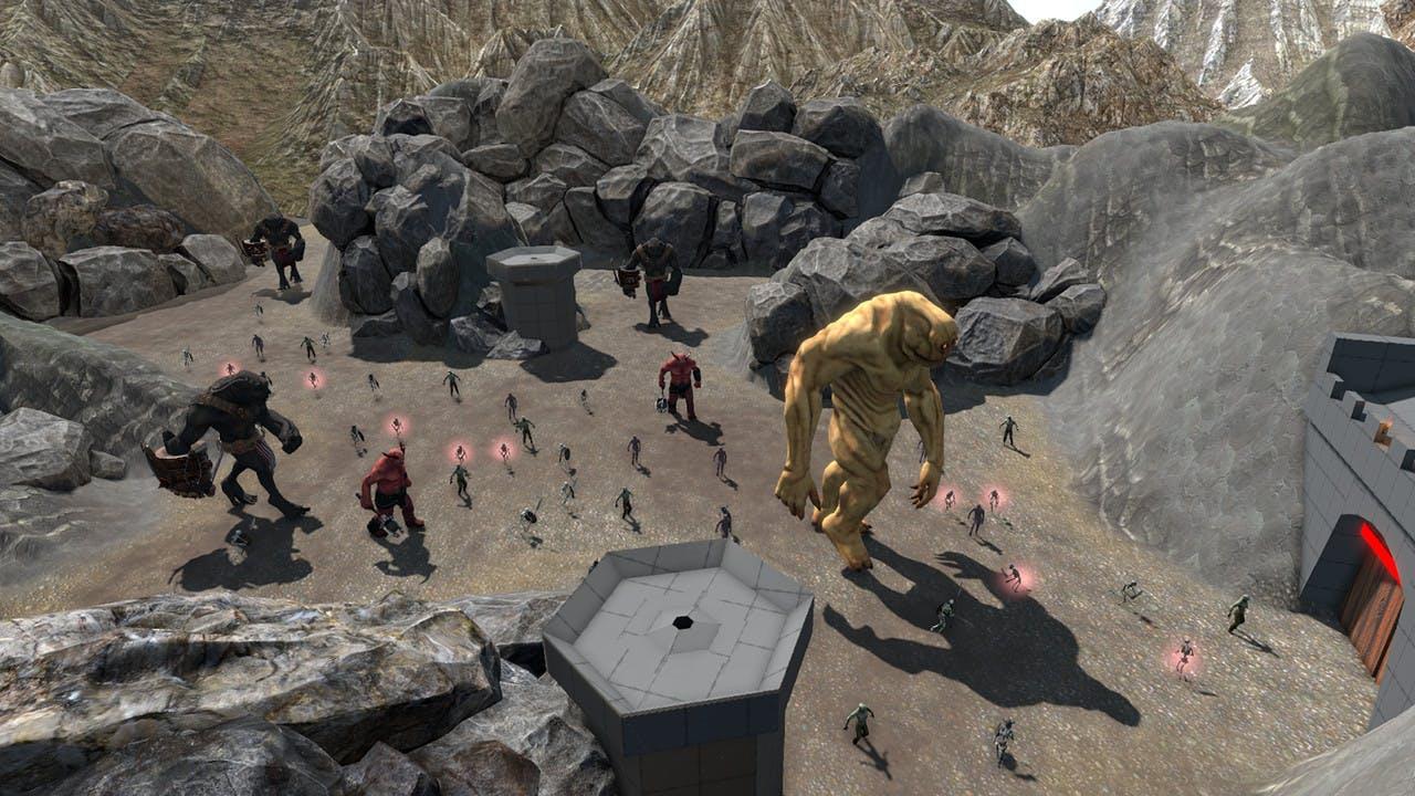 Zombie-schietspel QuiVr