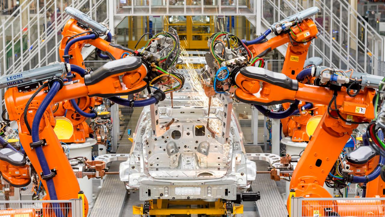'Door automatisering en robotisering verandert de arbeidsmarkt snel.' Foto ANP XTRA