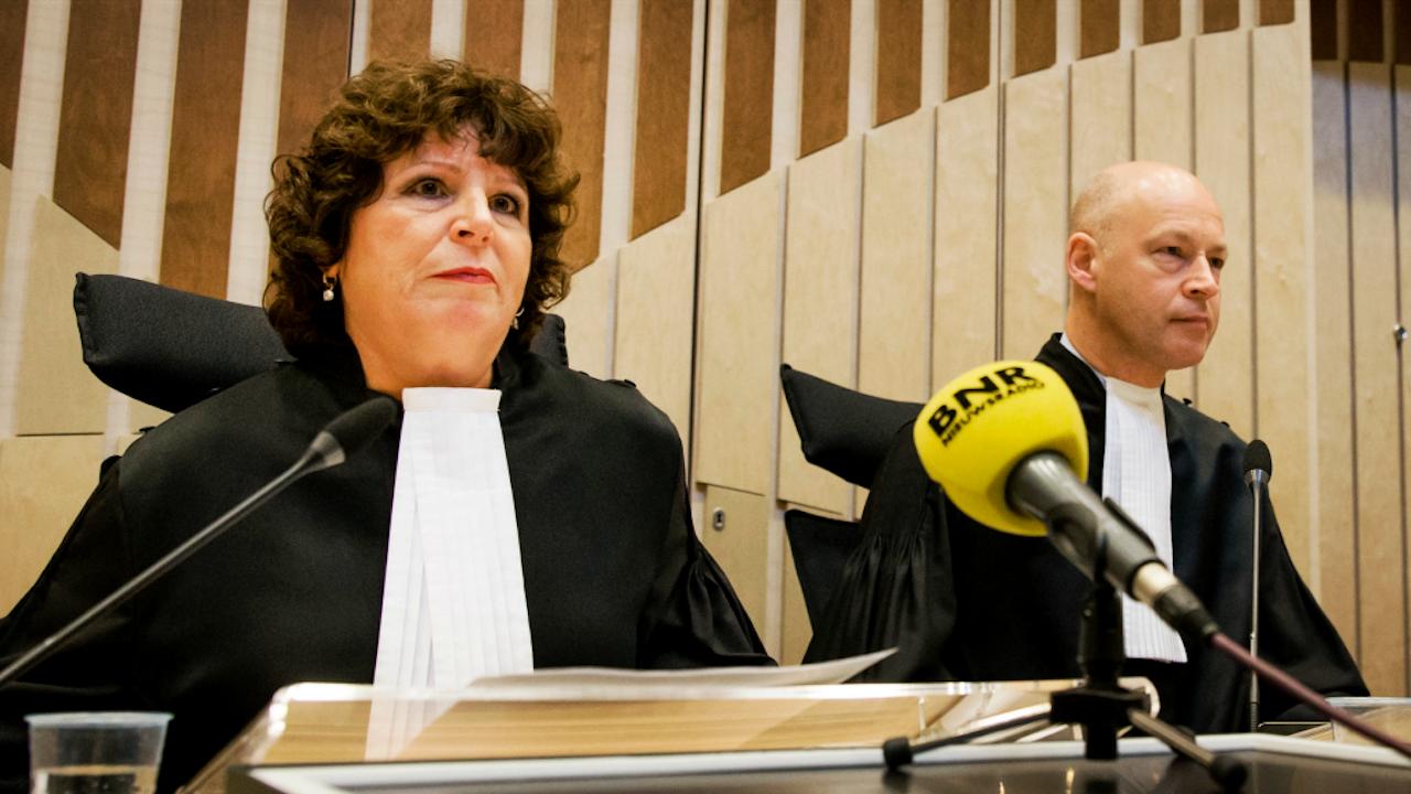 Links rechter Elianne van Rens. Foto ANP