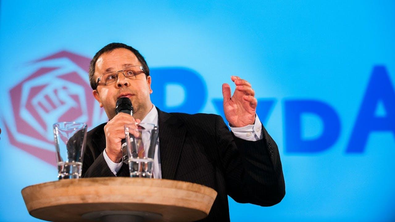 PvdA-prominent Sander Terphuis. Foto: HH/Michiel Wijnbergh