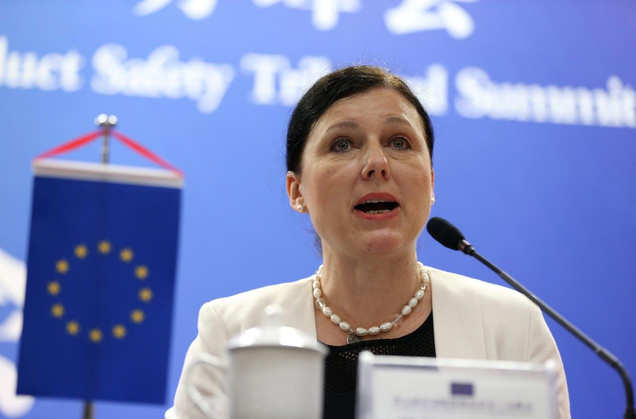 Eurocommissaris Věra Jourová | Beeld: ANP