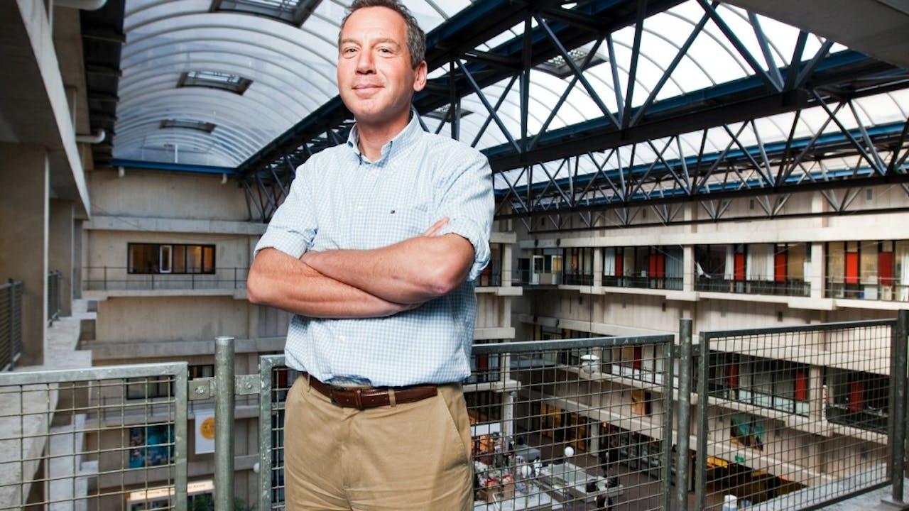 Marcel Levi stond een nier af en werd door Elsevier gekozen tot Nederlander van het Jaar. Foto: HH / Bram Belloni.