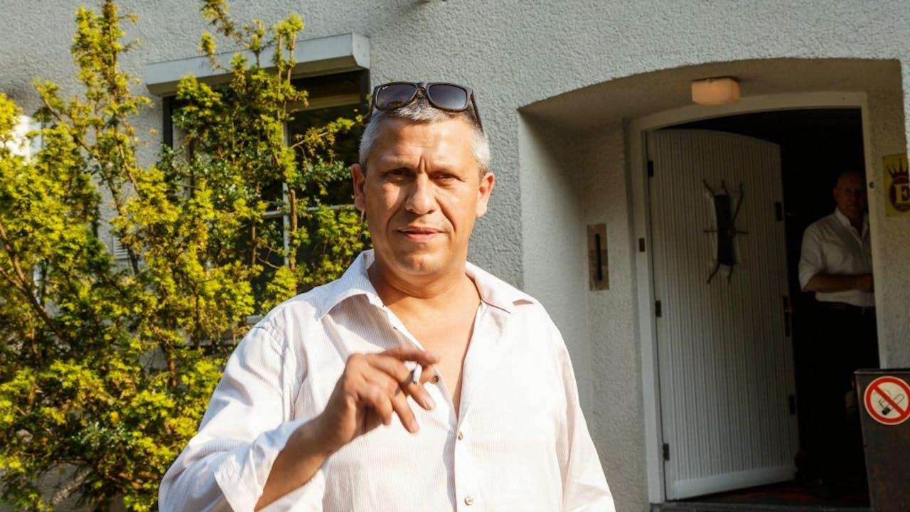 Martin Kok bij seksclub Boccaccio. Foto: HH/Edwin Janssen