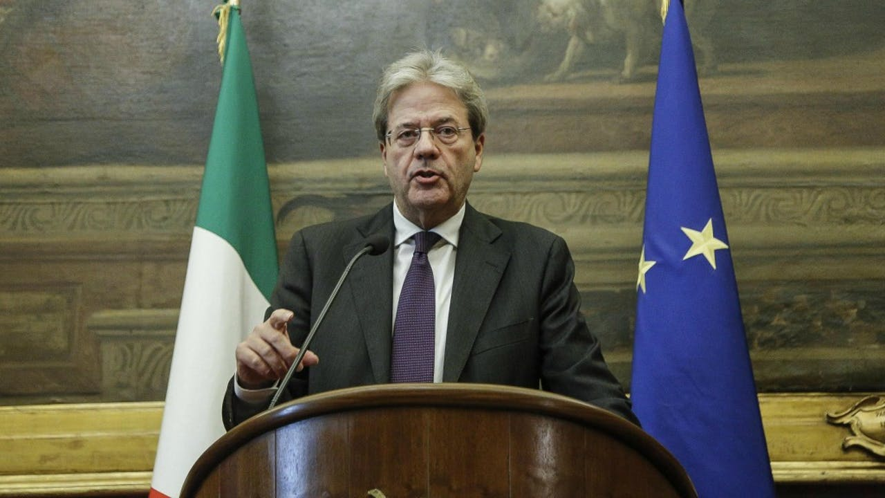 Paolo Gentiloni. Foto: ANP.