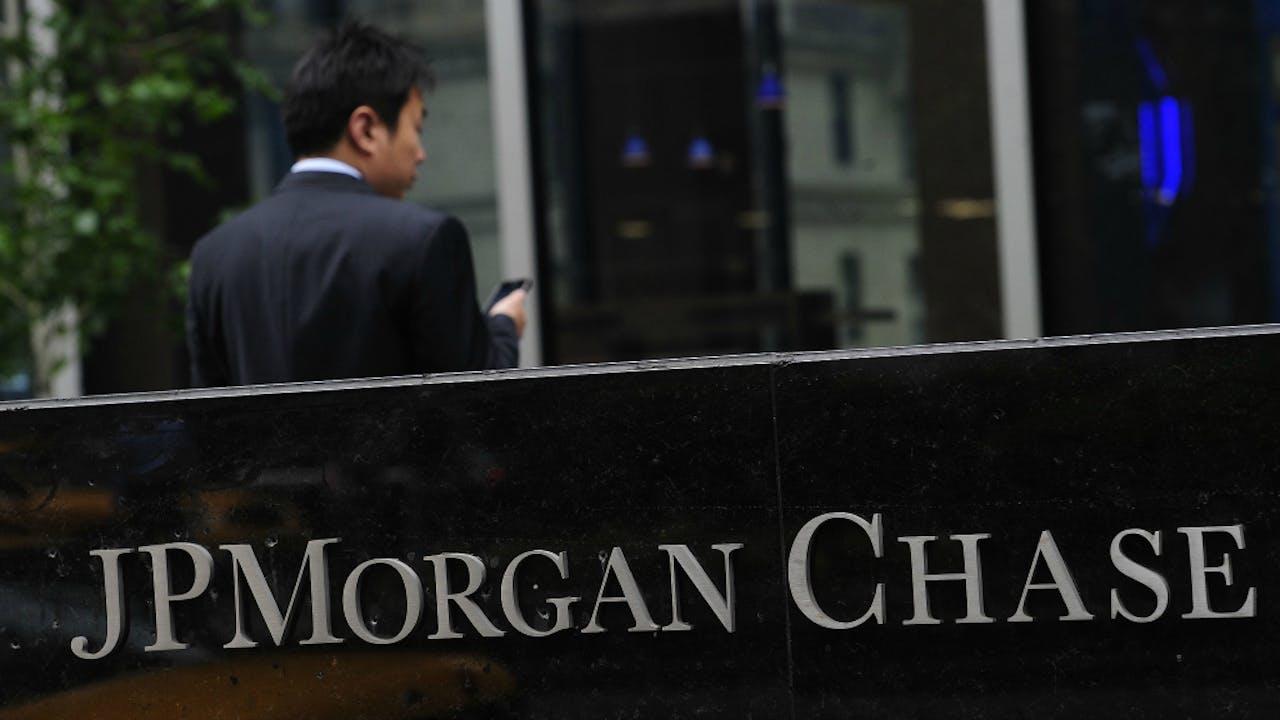 Ruim 83 miljoen rekeningen van klanten van JP Morgan Chase & Co waren het doelwit. Foto AFP