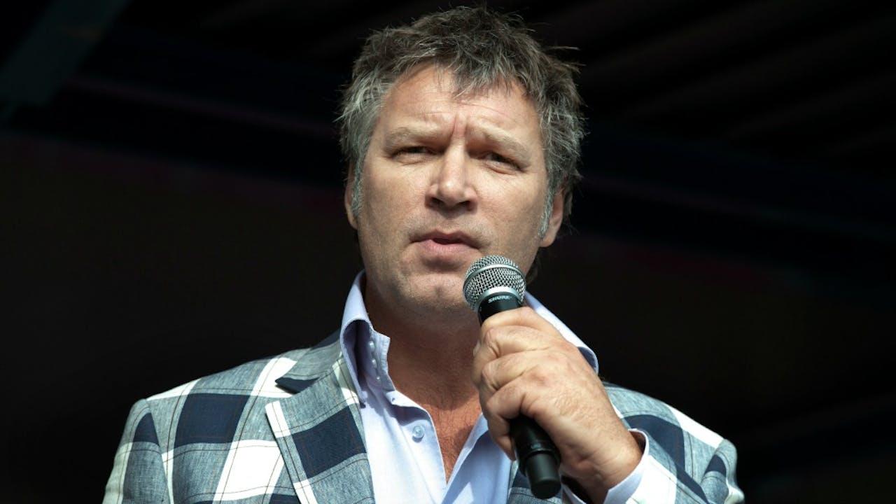 Cabaretier Sjaak Bral. Foto ANP