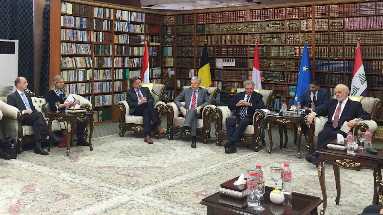 Koenders benadrukt het belang van een post-IS strategie. Foto: Twitter minister van BuZa.