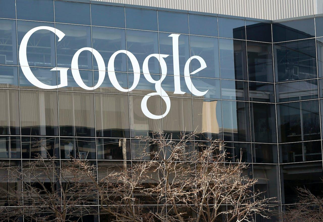 Het hoofdkantoor van Google in Mountain View, Californië. Beeld: Hollandse Hoogte