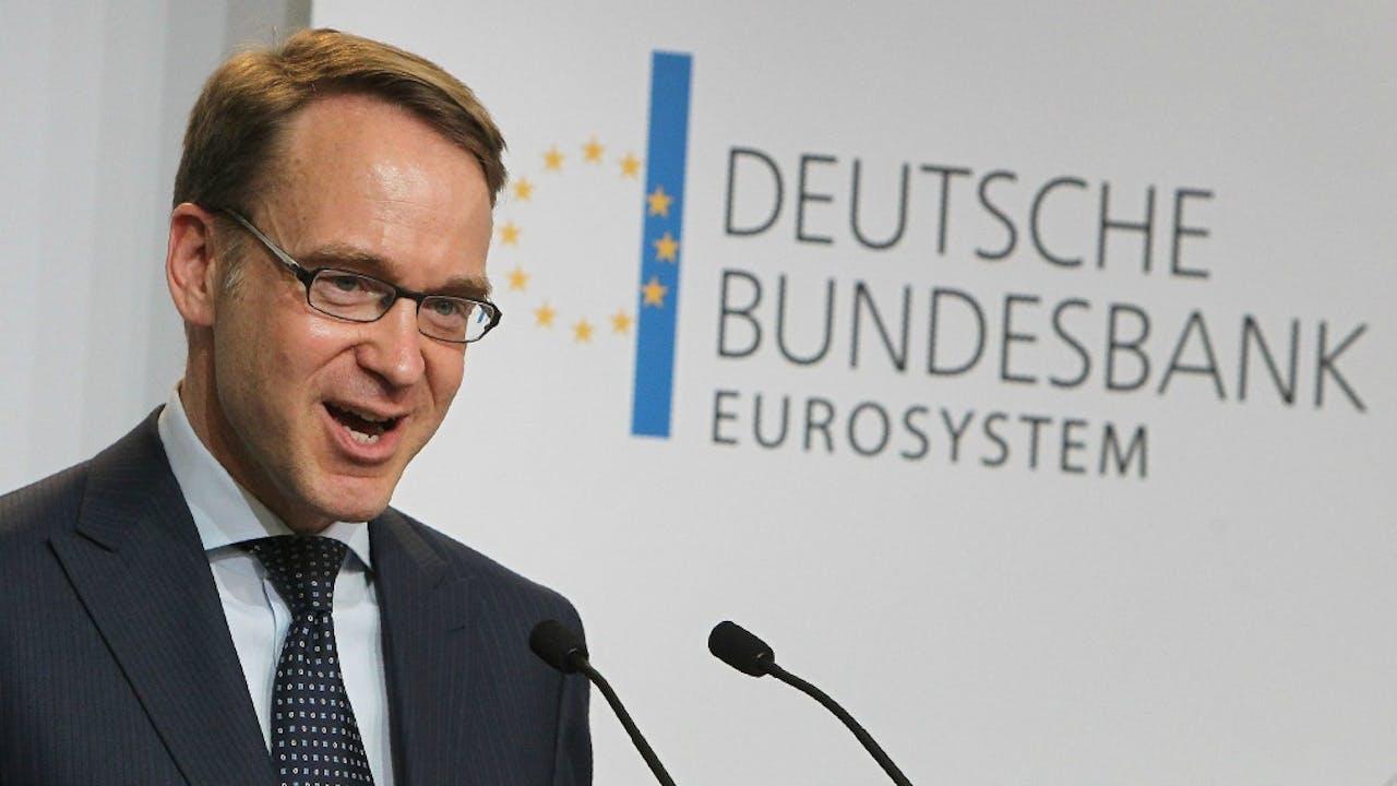 Bundesbank-president Jens Weidmann. Foto: ANP