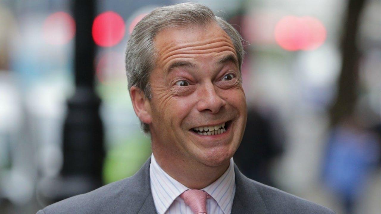 Oh, Nigel. Never change. Foto ANP