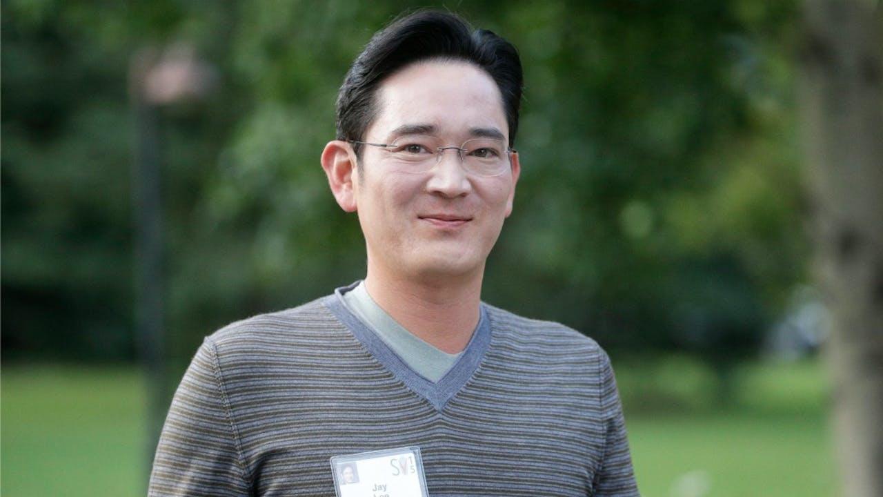 Samsung-topman Jay. Y. Lee. Foto: ANP/EPA