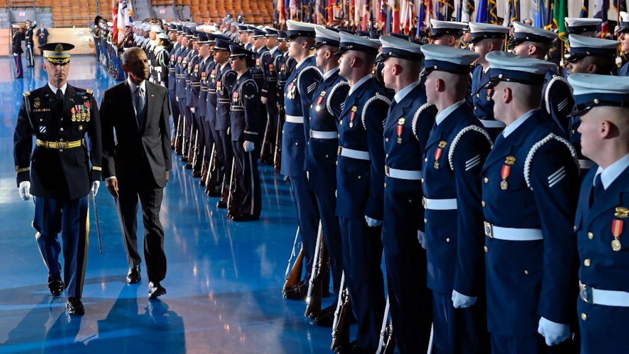 Amerika heeft nog steeds het allergrootste leger. Foto: HH/Susan Walsh