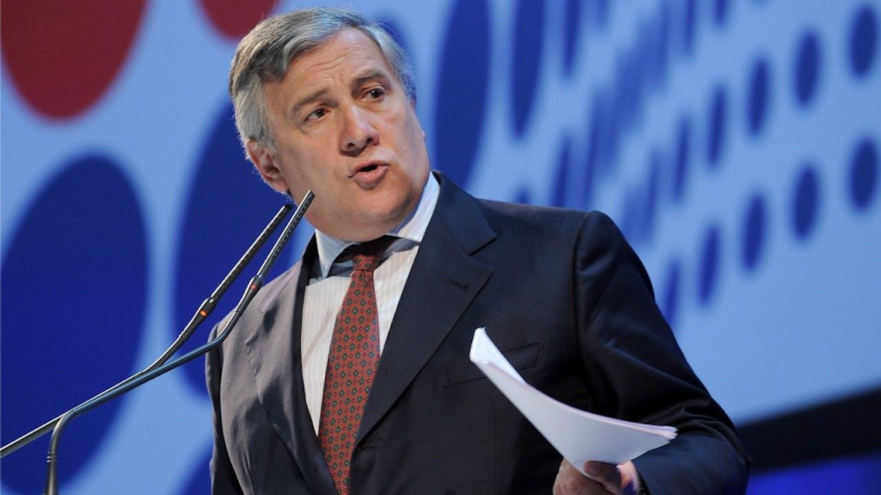 Antonio Tajani. Foto: HH/SIPA Press