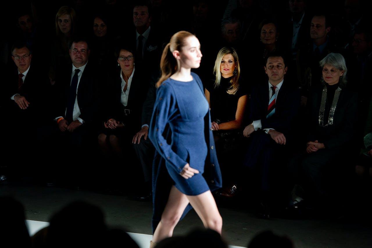 Duurzame mode tijdens de Amsterdam International Fashion Week. Foto ANP