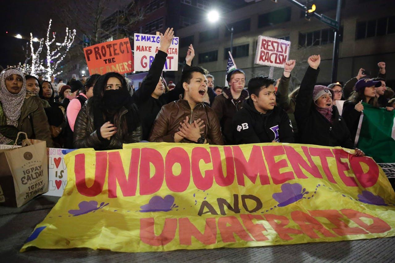 Protesten in Seattle. Foto AFP